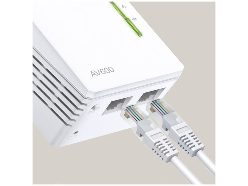 TP-Link TL-WPA4220 TKIT Powerline 600 Wi-Fi Adapter 3-Pack Kit