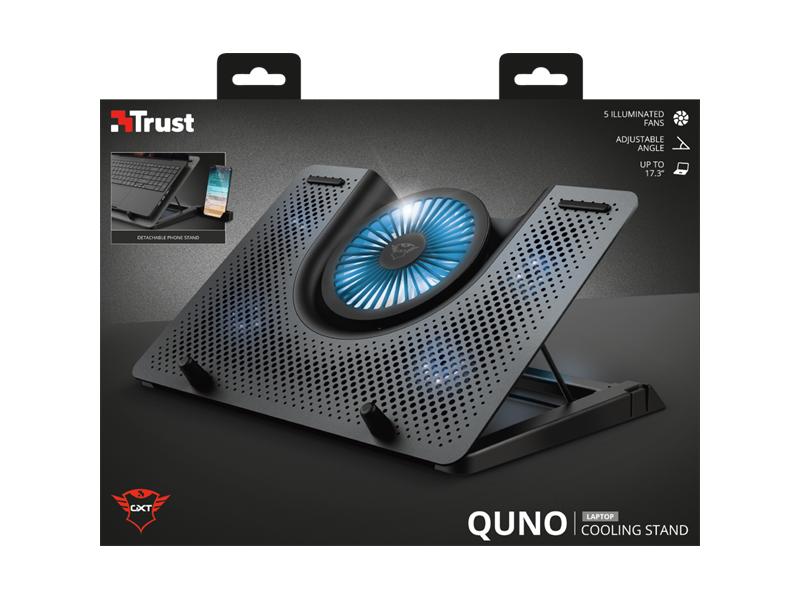 TRUST GXT 1125 QUNO Notebook hűtőállvány (23581)