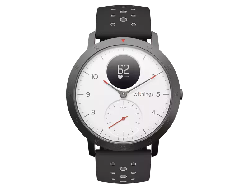 Withings Nokia Steel HR Sport Okosóra 36mm (HWA03-36WHITE-ALL-INTER) Fehér