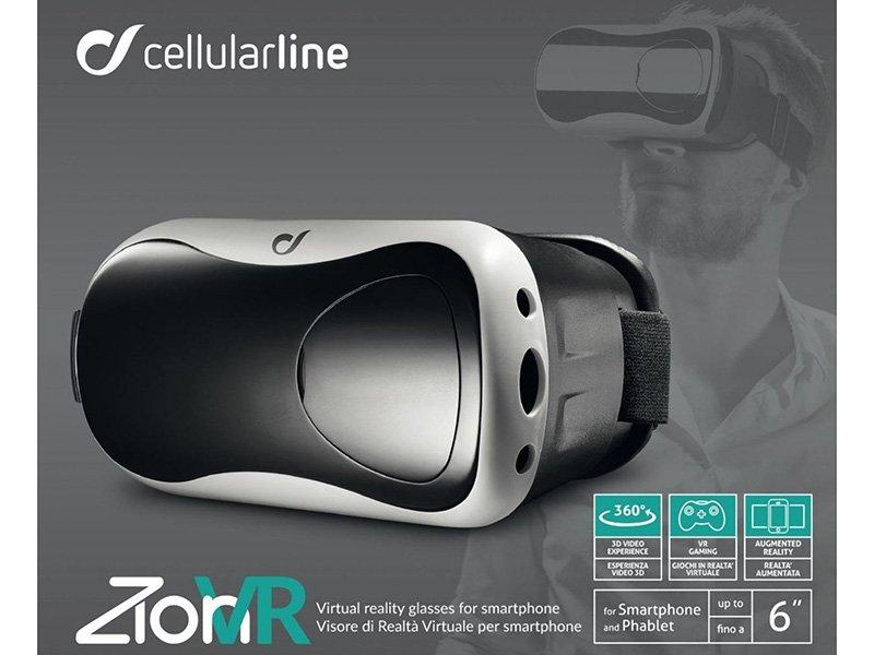 Akciós Cellularline 3D virtuális valóság szemüveg fekete Kiegészítő 011377e964
