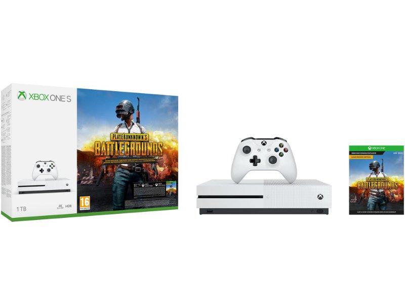 Xbox One S 1TB Konzol PUBG (PLAYERUNKNOWN'S BATTLEGROUNDS) csomag