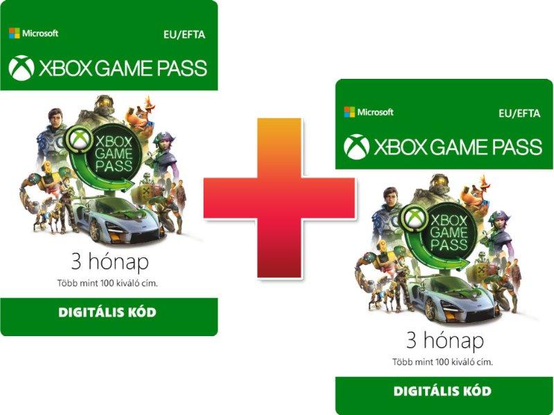 Xbox Game Pass 3 Hónapos Előfizetés (Letölthető)