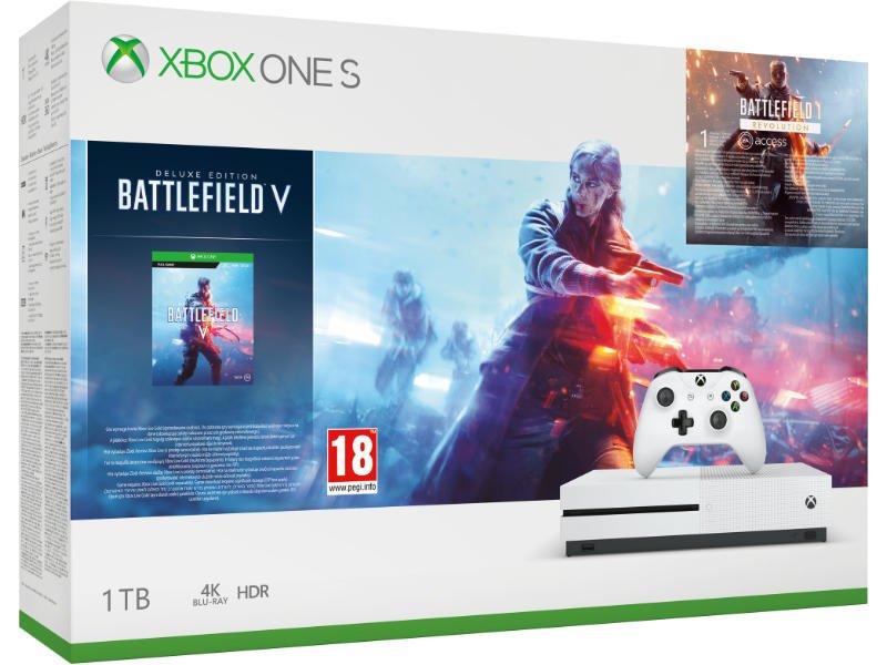 Xbox One S 1 TB Konzol Battlefield 5 (V) csomag