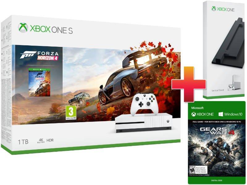 Xbox One S 1TB Konzol Forza Horizon 4 + Gears of War 4 csomag