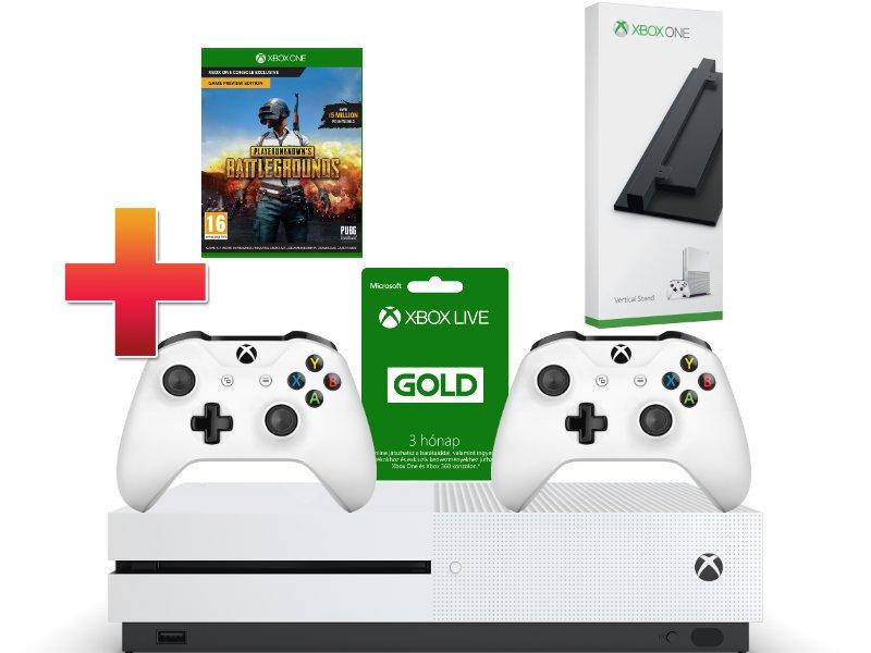 Xbox One S 1 TB Konzol Gyémánt csomag + Függőleges állvány