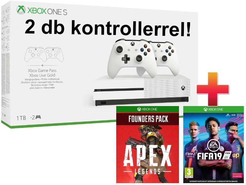 Xbox One S 1 TB Controller Hard Bundle