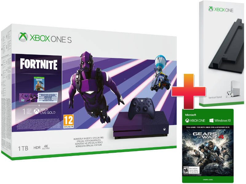 Xbox One S 1TB Fortnite Battle Royale Special Edition Konzol