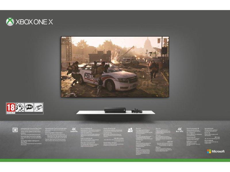 Xbox One X 1TB Konzol Tom Clancy's The Division 2 csomag